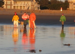 Razor Clam Dig - Long Beach Peninsula